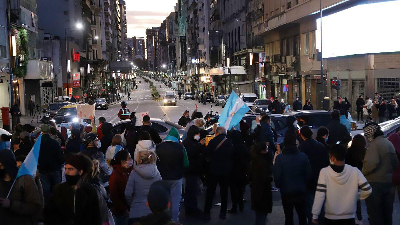 Movimientos anti cuarentena.