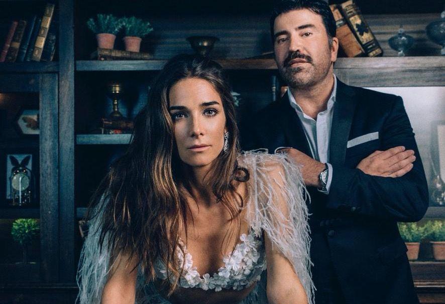 Juana Viale, musa del diseñador Javier Saiach, con un diseño exclusivo.