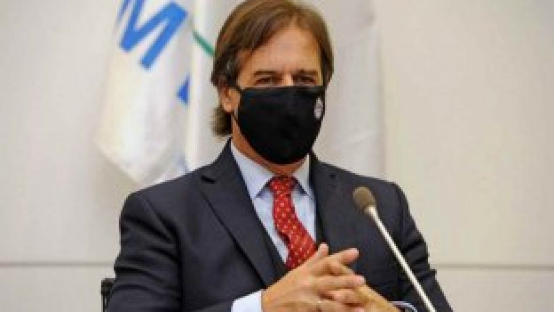 Lacalle Pou in quarantine.