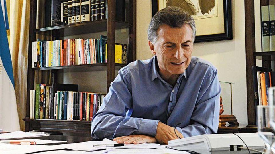 Macri. El ex presidente había solicitado a Seguridad un sistema encriptado de comunicaciones.