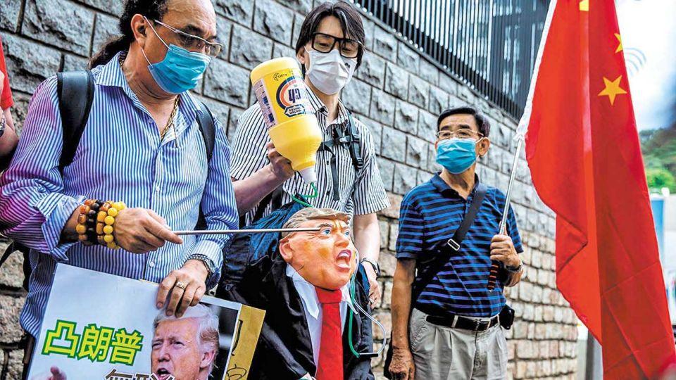 Tensión geopolítica. China desplazó a Rusia y es el nuevo antagonista de Estados Unidos.