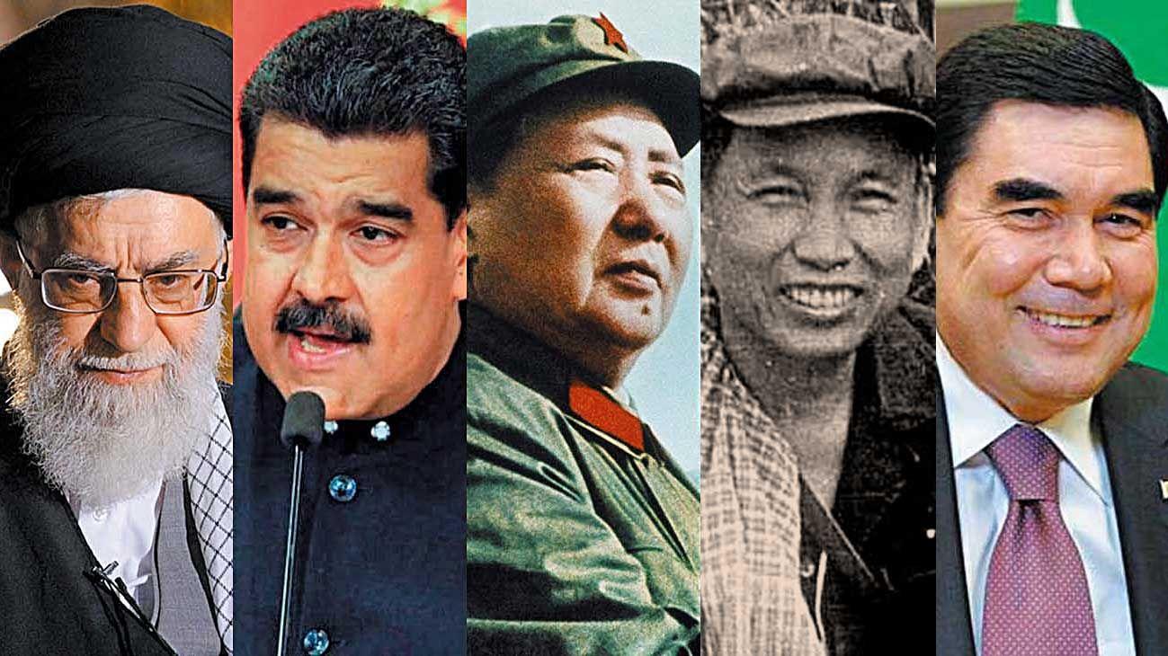 Modelos. En el Irán de Alí Khamenei, según la Constitución gobierna Dios; la Venezuela de Nicolás Maduro, fundador de la OPEP, importa petróleo; Mao Tse Tung y Pol Pot provocaron millones de muertes en China y Camboya con sus dictaduras; en el Turkmenistán del persidente Berdimuhamedow el coronavirus está prohibido.
