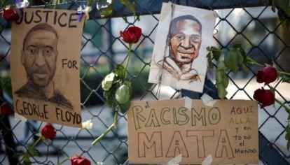 Crecen las protestas en Estados Unidos por el crimen de George Floyd.