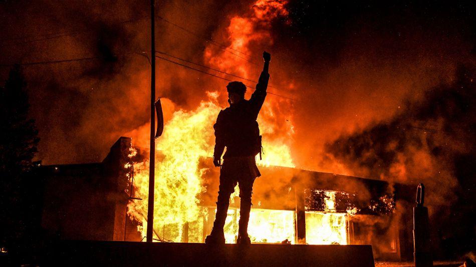 Incidentes durante las protestas en Estados Unidos por el crimen de George Floyd.
