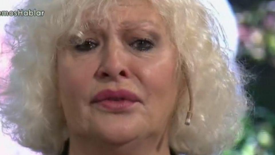 Con lágrimas en los ojos, Luisa Albinoni habló de su hija adoptiva