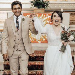 Una boda inusual en Londres.