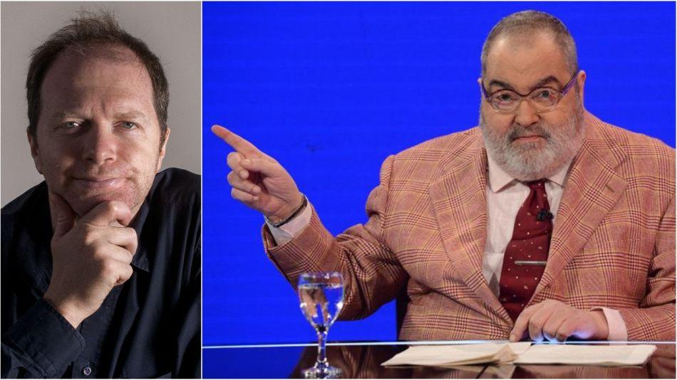 Lanata acusó a Golombek de recibir un subsidio del Estado.