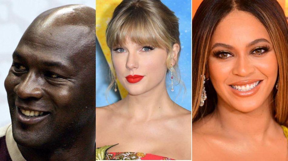 Michael Jordan, Taylor Swift y Beyoncé 20200601