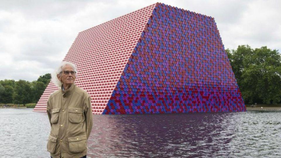 Falleció Christo, el artista que envolvió al mundo con sus telas