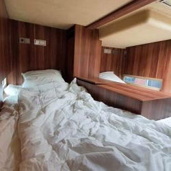 En el interior también podemos encontrar tres habitaciones.