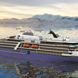 El National Geographic Endurance ha sido diseñado para navegar por zonas polares y realizar viajes muy largos.