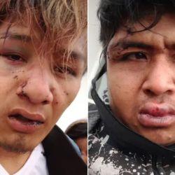 Quom's agredidos violentamente por policías. | Foto:cedoc