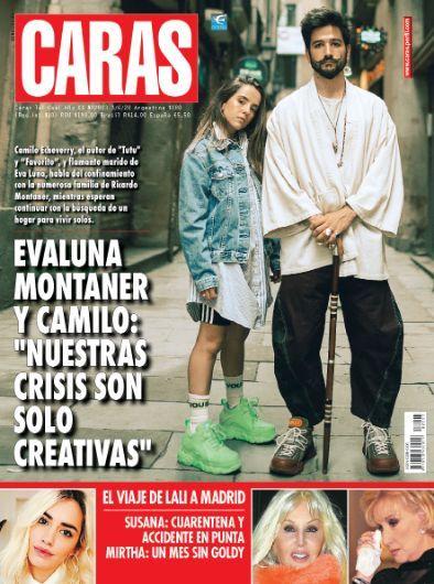 """Evaluna Montaner y Camilo: """"Nuestras crisis son sólo creativas"""""""