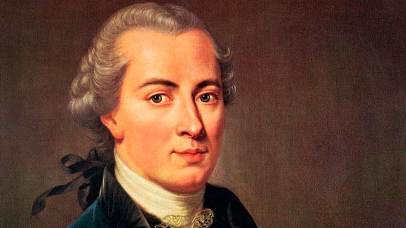 Immanuel Kant (Prusia, 1724 - ibídem, 1804).