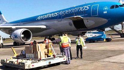 Aerolíneas Argentinas.