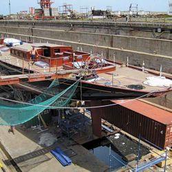 Los trabajos deberán llevarse a cabo en astilleros o talleres navales habilitados por la Prefectura.