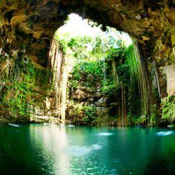 Los cenotes son una de las grandes atracciones en la zona de Cancún.