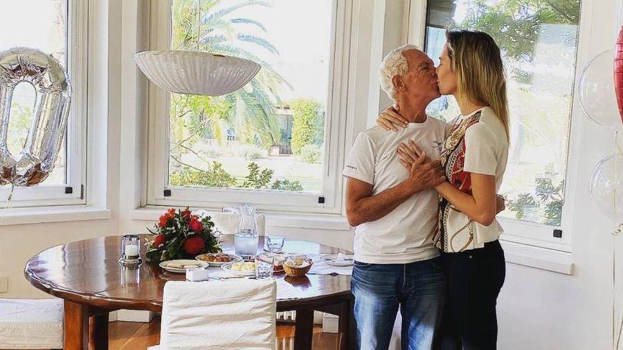El emotivo mensaje de Eduardo Costantini a Elina Fernández en su cumple