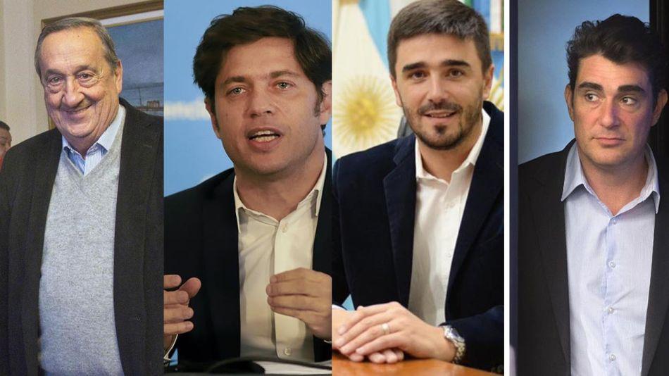 Miguel Lunghi, Kicillof, Ezequiel Galli, Javier Iguacel 20200603