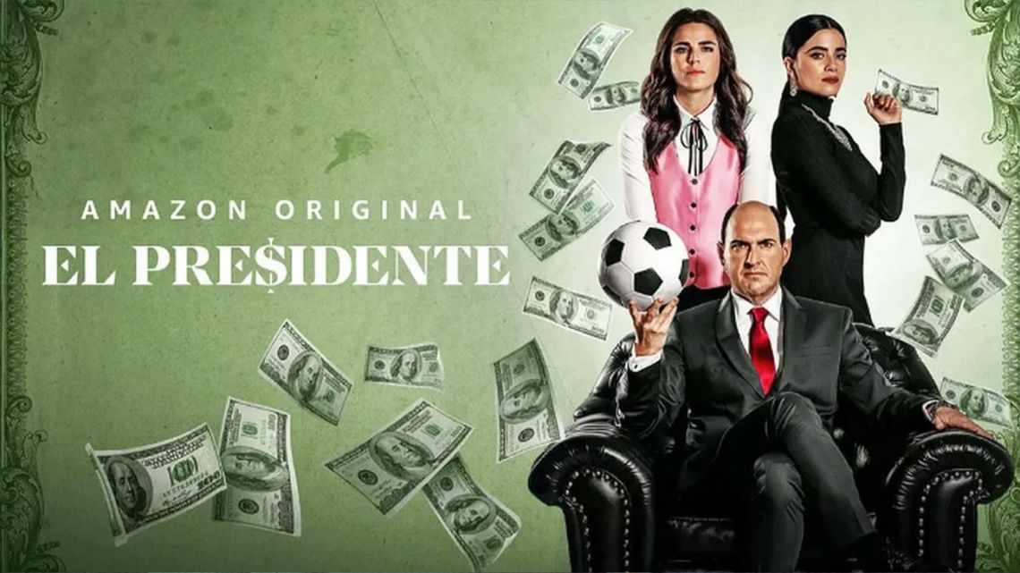 "New series ""El Presidente,"" brought to life by Argentine writer Armando Bo, arrives on Amazon Prime this Friday."