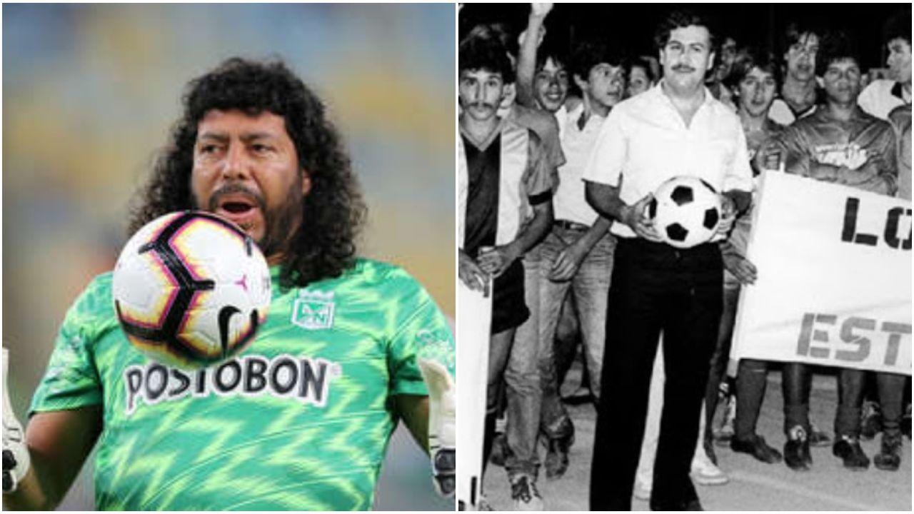 """Higuita habló de la amistad con Pablo Escobar que lo llevó a la cárcel: """"Me pedían que lo entregara"""""""