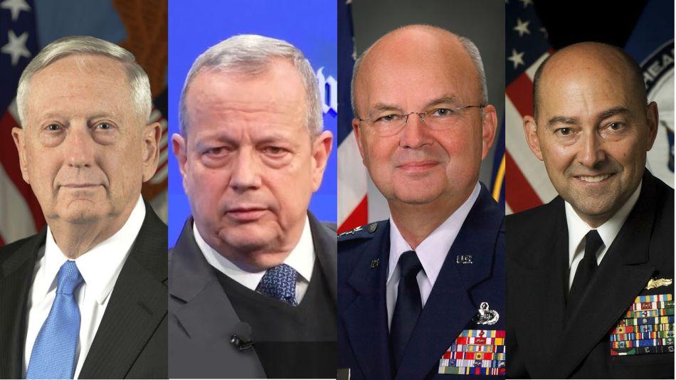 Los militares que acusaron a Trump 20200604