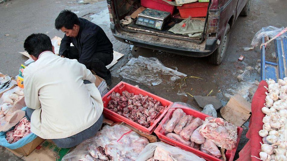 Mercado Wuhan en china y aguas de Venecia-20200604