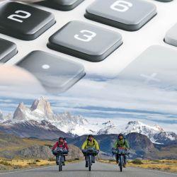 Es muy importante antes de salir a una nueva travesía calcular tiempos, distancias, dinero, agua y alimentos.