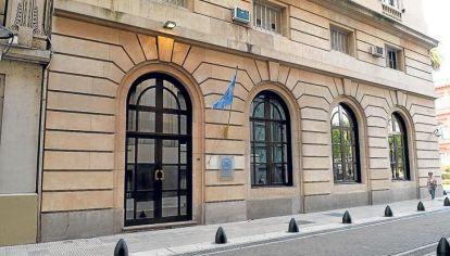 El edificio de la Agencia Federal de Inteligencia.