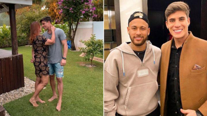 Gritos, golpes e intento de suicidio: la mamá de Neymar se separó de su joven novio