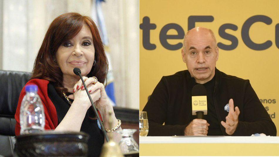 Cristina y Larreta 20200605