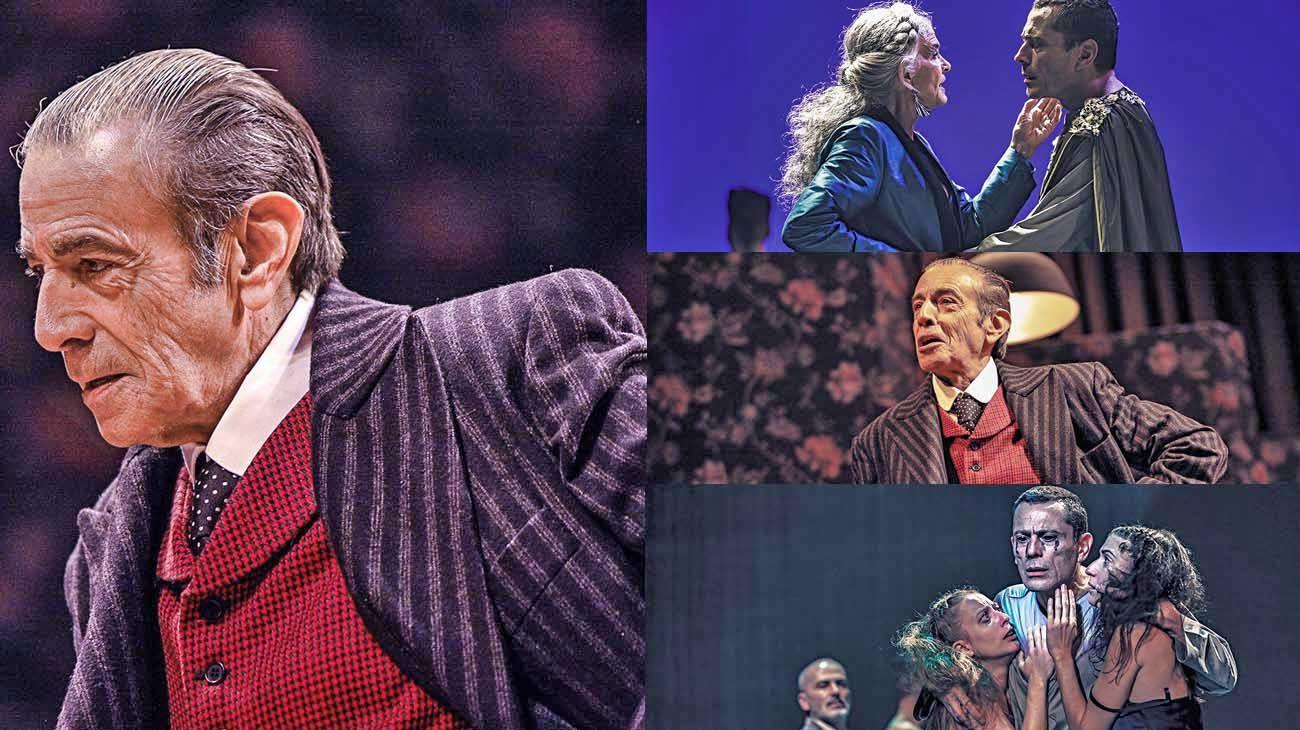 Celebración. Mario Alarcón fue celebrada por su protagónico en Jettatore.