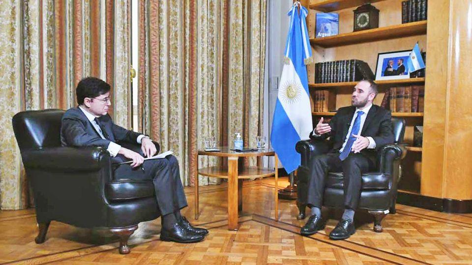 """Propuesta a los acreedores. """"Lo que estamos proponiendo es una reestructuración integral que le de a la Argentina un sendero de sostenibilidad""""."""