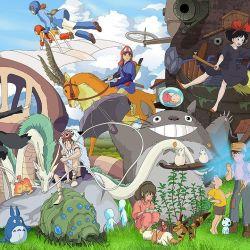 Todos los personajes creados por el estudio de animación creado por Hayao Miyasaki cobrarán vida en un parque temático que se inaugurará en dos años en Japón.