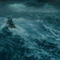 Se acerca una supertormenta y un pescador intenta romper su racha de mala suerte con una gran captura. Pero su embarcación no está preparada y deben ir en su rescate.