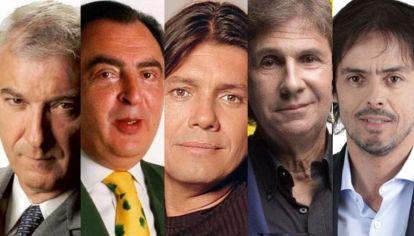 Viale, Araujo, Tinelli, Pons y Closs.