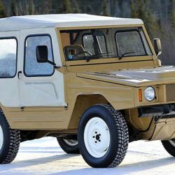 El Volkswagen Iltis se fabricó entre fines de los 70 y buena parte de los 80.