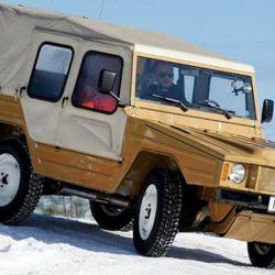 El Volkswagen Iltis nunca estuvo a la venta para el público en general.