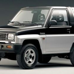 El Daihatsu Rocky fue un extraño SUV con muy buena movilidad en terrenos difíciles.
