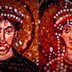 El emperador Justiniano, su esposa Teodora y una epidemia que cambió la Historia.