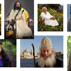 Ravi Shankar, uno de los entrevistados de la serie que creó, dirige y encabeza la fotógrafa.