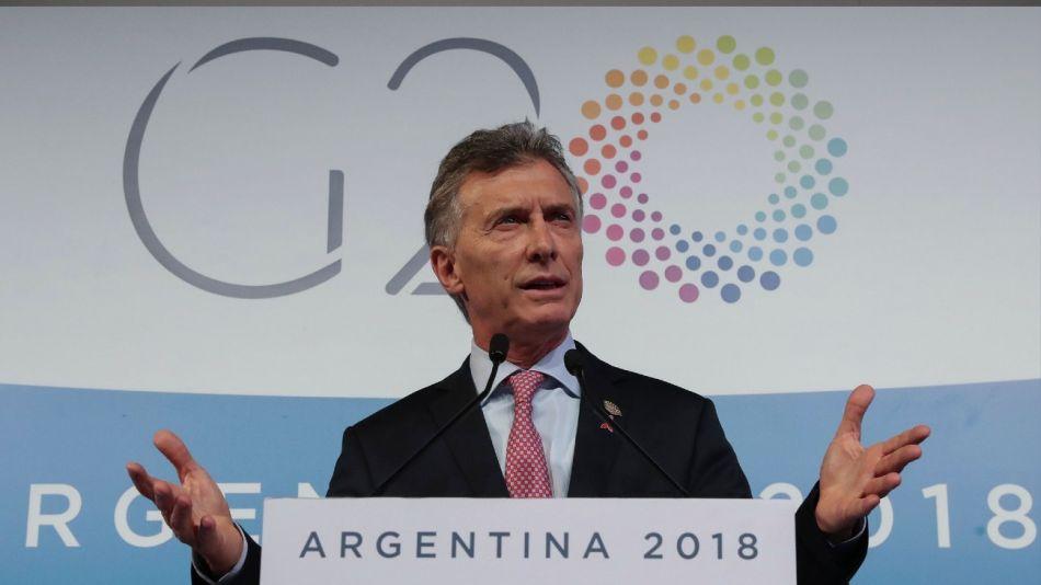 G20 Mauricio Macri Presidencia 20181201