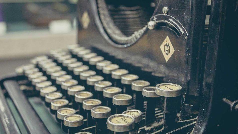 maquina de escribir periodismo
