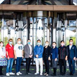 El personal de Reserva Club Med Joyview Golden Coast, ubicada en Qinhuangdao, ChHina, tiene todo listo para recibir a los primeros huéspedes.