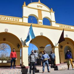 En la municipalidad de Animaná ya están listos para recibir a sus coprovincianos.