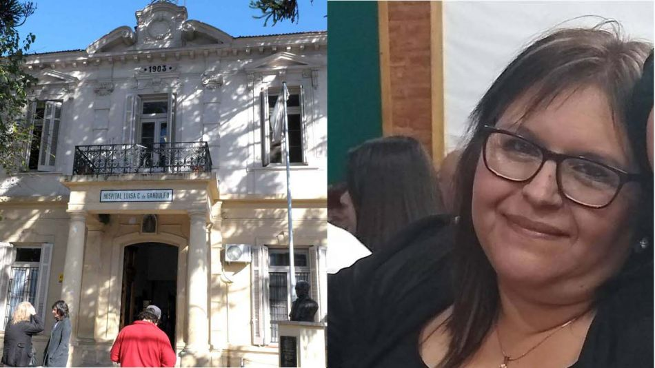 Esther Ledesma era enfermera del Hospital Luisa C. de Gandulfo 20200609