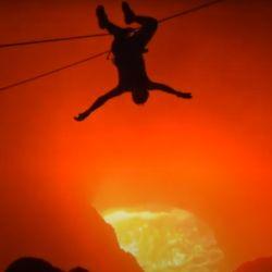 Tirolesa en el volcán Masaya, Nicaragua. Una aventura de adrenalina pura.