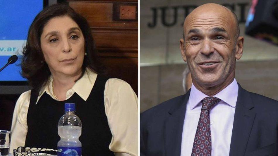 Gustavo Arribas y Silvia Madjalani