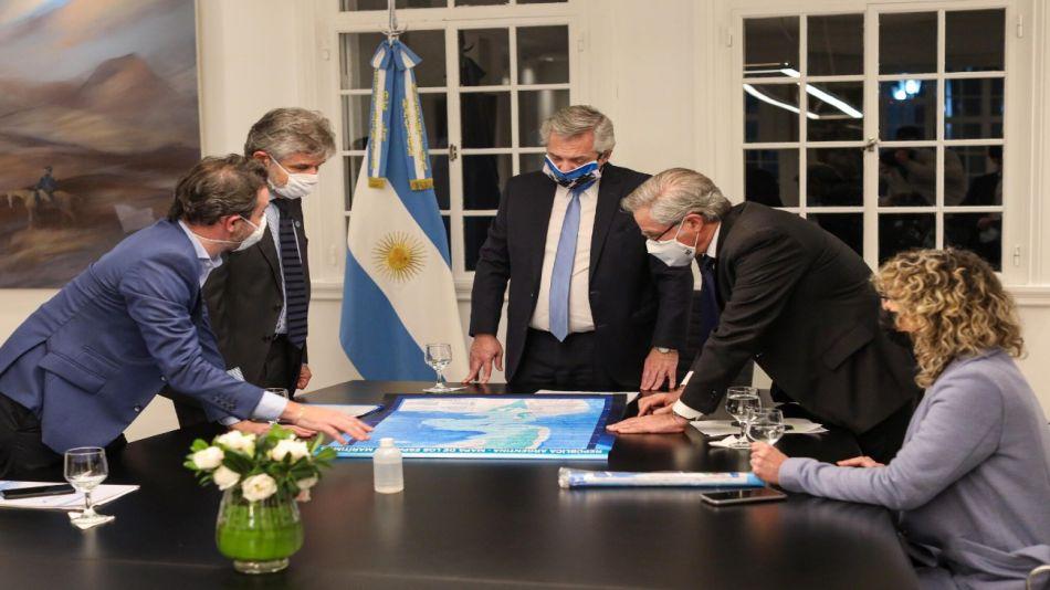Malvinas anuncio Gobierno leyes Presidencia 20200610
