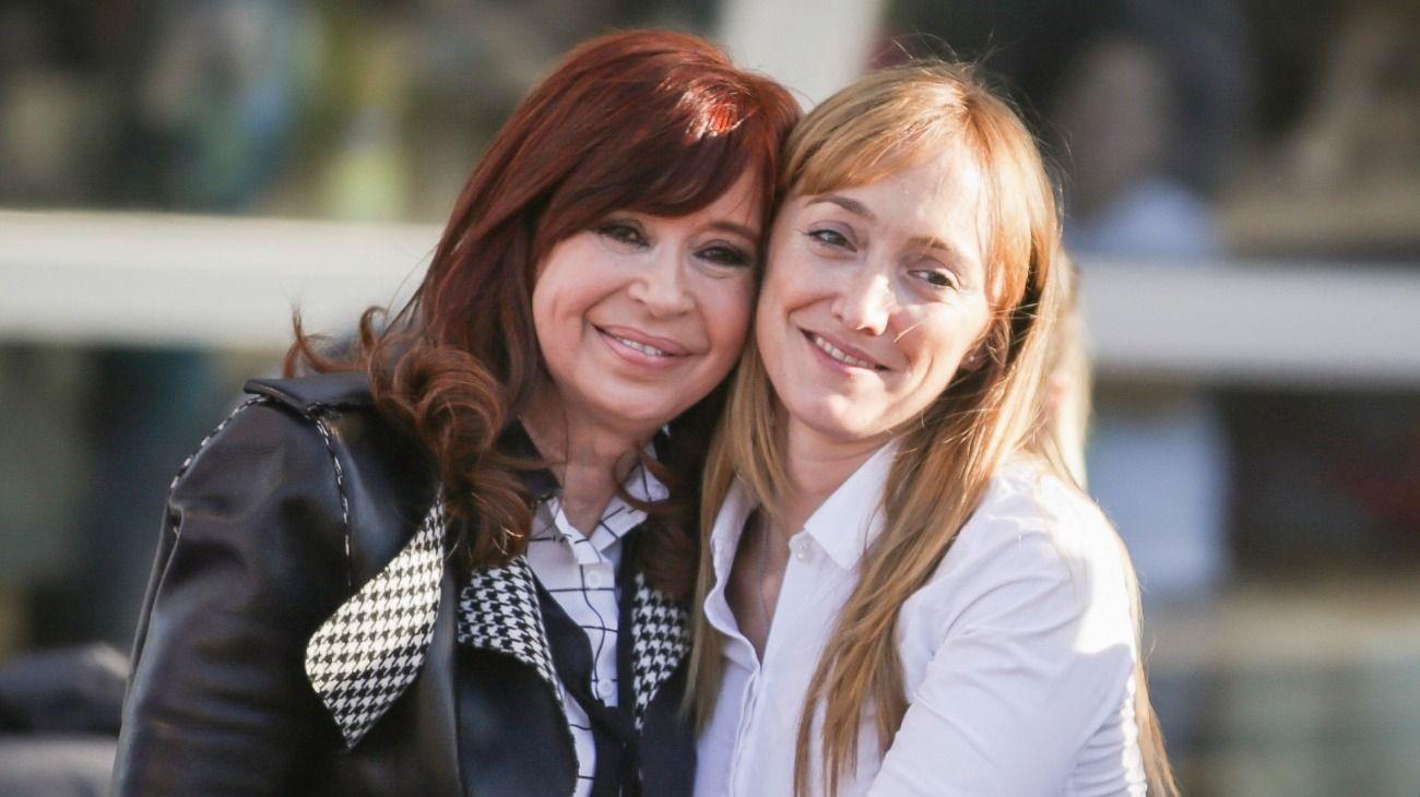 Cristina Kirchner y Anabel Fernández Sagasti.